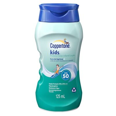 Protetor Solar Coppertone Kids FPS 50 125ml