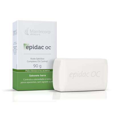 Sabonete Barra Epidac Oc Mantecorp Skincare 90g