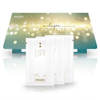 Imagem 1 do produto Milagre Super Lift Maquel Sérum Tensor Antirrugas 0,3g 3 Sachês