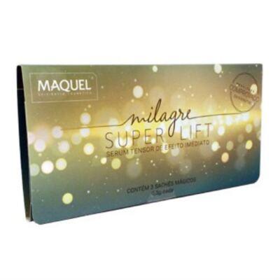 Imagem 2 do produto Milagre Super Lift Maquel Sérum Tensor Antirrugas 0,3g 3 Sachês
