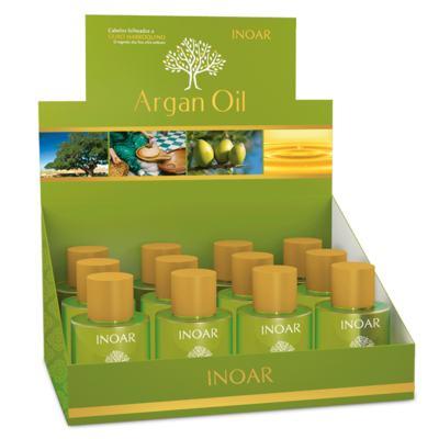 Imagem 1 do produto Inoar Argan Oil - Óleo de Tratamento Capilar - 12x 7ml