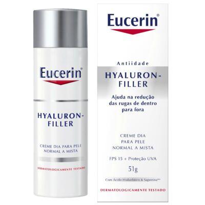 Imagem 1 do produto Creme Anti-idade Facial Eucerin Hyaluron-Filler Dia FPS 15 51g