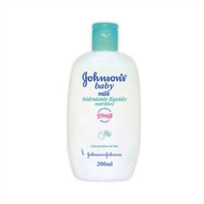Loção Hidratante Johnson's Baby Milk - 200ml