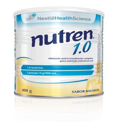 Suplemento Alimentar Nestlé Nutren 1.0 Baunilha 400g