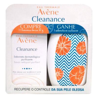 Imagem 1 do produto Sabonete em Barra Avène Cleanance 80g Grátis Saboneteira