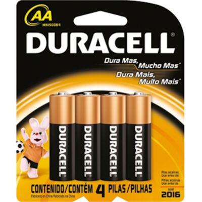 Imagem 1 do produto Pilha Duracell P com 4 Unidades