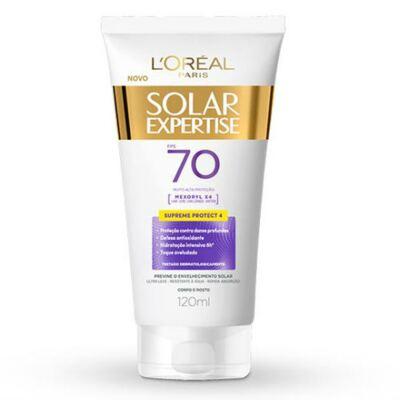 Imagem 1 do produto Protetor Solar L'Oréal Expertise Supreme FPS 70 120ml
