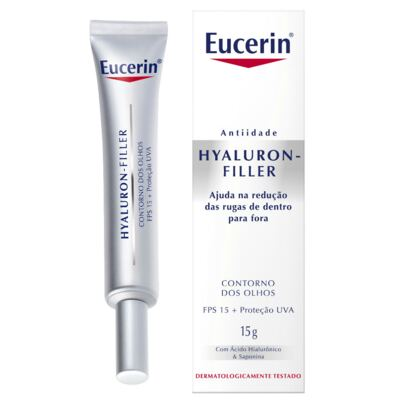 Imagem 1 do produto Creme Anti-idade Olhos Eucerin Hyaluron-Filler Eyes 15g