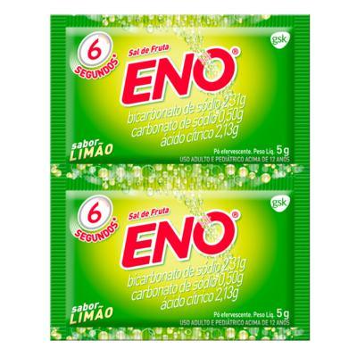 Imagem 1 do produto Sal de Fruta Eno Limão 5g 2 Envelopes