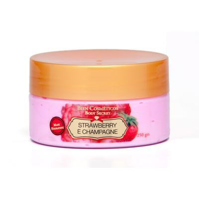Imagem 1 do produto Strawberry and Champagne Máscara de hidratação Corporal de Bien Cosméticos - 250 g