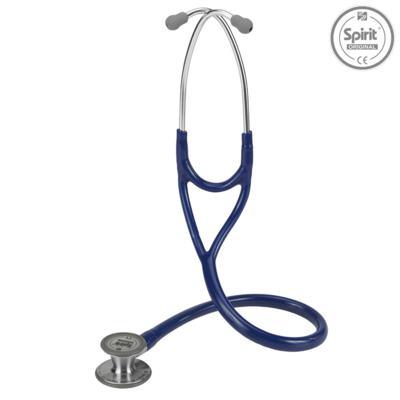 Estetoscópio Cardiology Azul Marinho com Diafragma Pediatrico Spirit