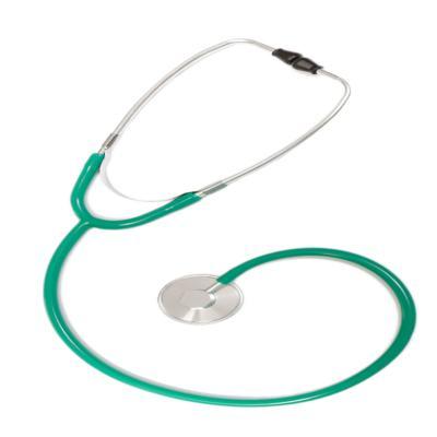 Imagem 1 do produto Estetoscópio Simples Unosson Verde EST302 P.A. Med