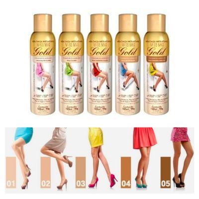 Imagem 5 do produto Meia Calça Instantânea 150ml Gold Nylons - Spray Bronzeador - Muito Clara