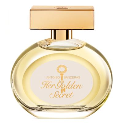 Her Golden Secret Antonio Banderas - Perfume Feminino - Eau de Toilette - 80ml