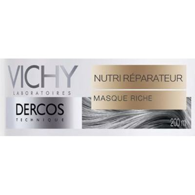 Imagem 2 do produto Dercos Máscara Vichy - Máscara Reparadora Capilar - 200ml