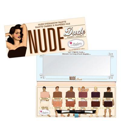 Imagem 1 do produto Nude Dude The Balm - Paleta de Sombras - Estojo