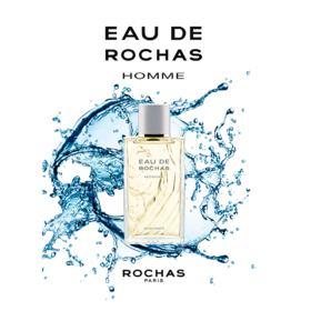Eau de Rochas Homme Rochas - Perfume Masculino Eau de Toilette - 50ml