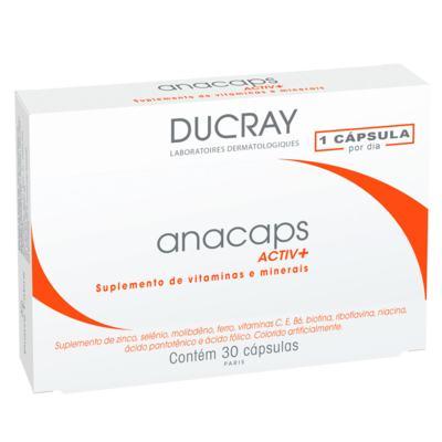 Anacaps Activ+ Ducray - Suplemento Antiqueda Capilar - 30 Cáps