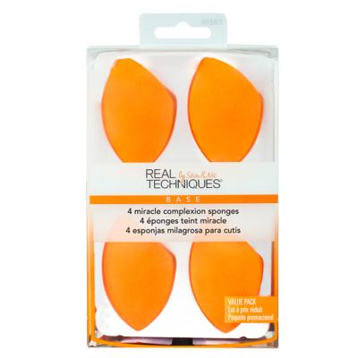 Real Techniques Miracle Complexion Sponge Kit - 4 Esponjas Ovais - Kit
