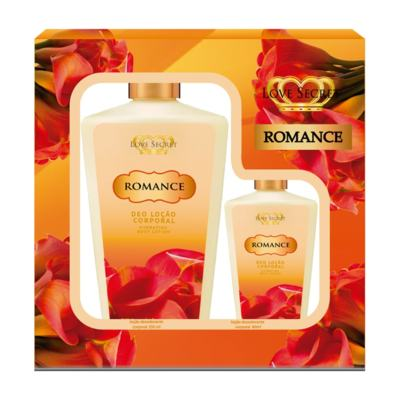 Kit Romance Locao Corporal De Love Secret - Kit (250ml + 60ml)