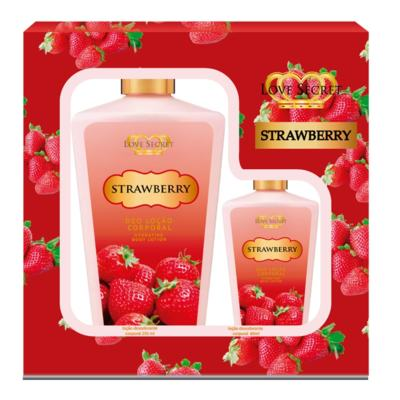 Kit Strawberry Loção Corporal De Love Secret - KIt (250ml + 60ml)