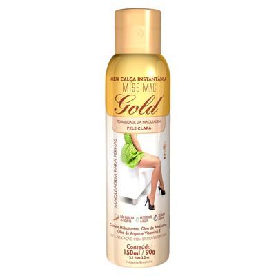 Imagem 1 do produto Meia Calça Instantânea 150ml Gold Nylons - Spray Bronzeador - Clara