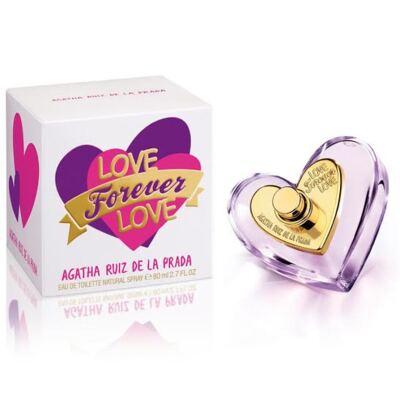 Love Forever Love Agatha Ruiz de la Prada Eau de Toilette Feminino - 80 ml