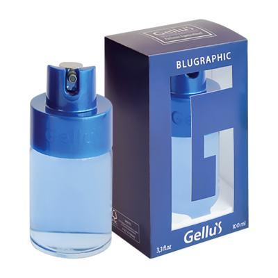 Imagem 1 do produto Blugraphic de Gellus Deo Colônia Unisex - 100 ml
