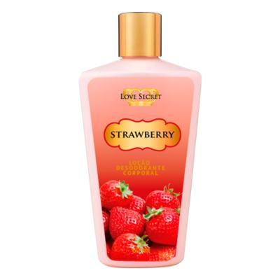 Imagem 1 do produto Loção Corporal Strawberry De Love Secret - 250 ml