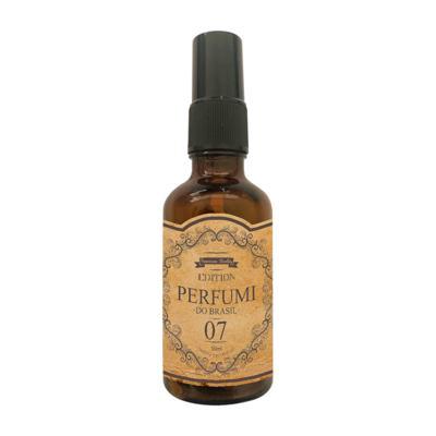 Perfume Retrô 07 Feminino Oriental Baunilha Sensual - 50 ml