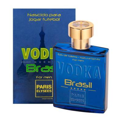 Vodka Brasil Azul De Paris Elysees Eau De Toilette Masculino - 100 ml