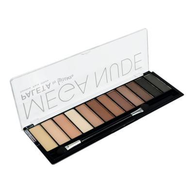 Imagem 1 do produto Paleta Sombras Para Olhos Mega Nude de Luisance - 12 Cores
