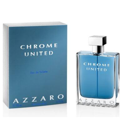 Imagem 1 do produto Azzaro Chrome United Eau De Toilette Masculino - 50 ml