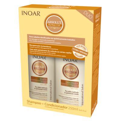 Imagem 2 do produto Inoar Absolut Daymoist CLR Kit - Shampoo + Condicionador - Kit