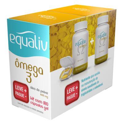Imagem 1 do produto Ômega 3 Equaliv - Óleo de Peixe - Kit