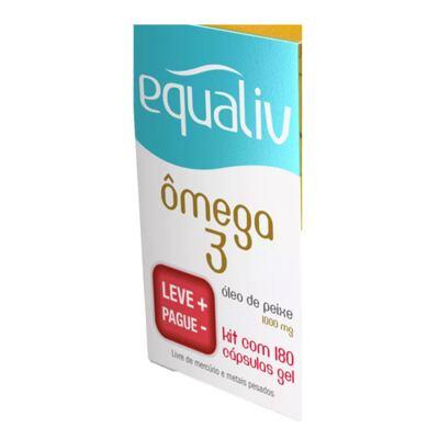 Imagem 2 do produto Ômega 3 Equaliv - Óleo de Peixe - Kit