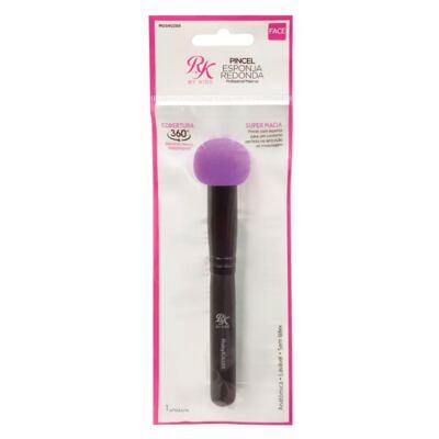 Imagem 3 do produto RK Pincel Esponja Redonda First Kiss New York - Aplicador de Maquiagem - 1 Un