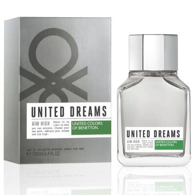 Imagem 1 do produto United Dreams Men Aim High Benetton Eau de Toilette Masculino - 60 ml