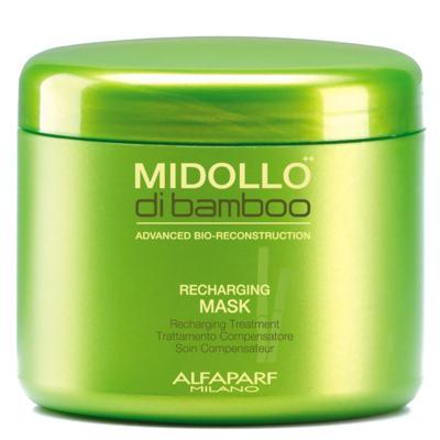 Alfaparf Midollo di Bamboo Recharging Mask - Máscara de Restauração - 500ml