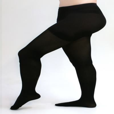 Imagem 1 do produto Meia Calça 20-30 mmHg Assure Medi - PRETO PONTEIRA FECHADA M