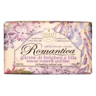 Imagem 1 do produto Romântica Glicínia Toscana e Essências de Lilás Nesti Dante - Sabonete Perfumado em Barra - 250g