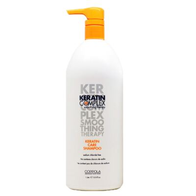 Imagem 1 do produto Keratin Complex Smoothing Therapy Keratin Care - Shampoo - 1L