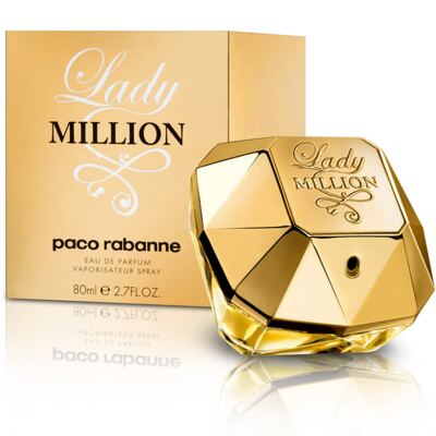 Lady Million Paco Rabanne Feminino Eau De Parfum - 50 ml