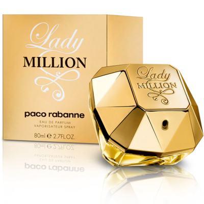 Imagem 1 do produto Lady Million Paco Rabanne Feminino Eau De Parfum - 50 ml