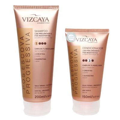 Imagem 2 do produto Kit Shampoo + Condicionador Vizcaya Pós Escova Progressiva - Kit