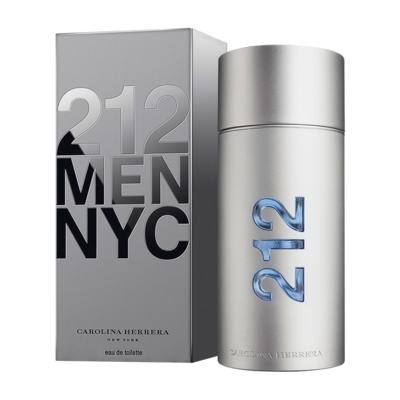 212 Men De Carolina Herrera Eau De Toilette Masculino - 30 ml