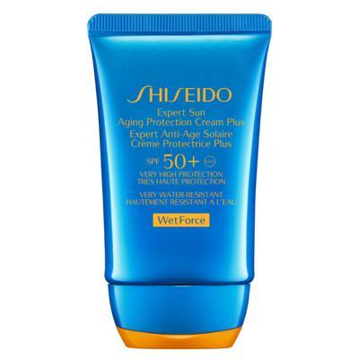 Imagem 1 do produto Expert Sun Aging Protection Cream Plus Spf50 Shiseido - Protetor Solar Antienvelhecimento - 50ml