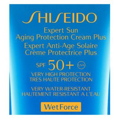 Imagem 3 do produto Expert Sun Aging Protection Cream Plus Spf50 Shiseido - Protetor Solar Antienvelhecimento - 50ml