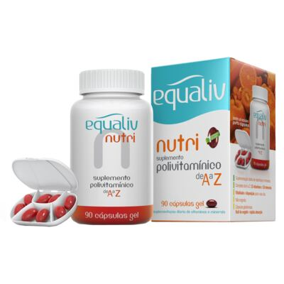 Imagem 1 do produto Nutri Equaliv - Suplemento Polivitamínico - 90 Cáps