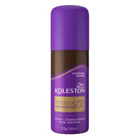 Retoque Instantâneo Spray Koleston - Castanho Escuro | 100ml